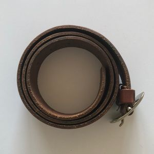 Madewell Cognac Leather Belt